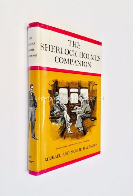 The Sherlock Holmes Companion by Michael and Mollie Hardwick First Edition John Murray 1962